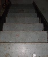 Basement Stairs-2 by Rubyfire14-Stock