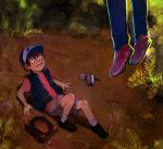 Get out of the forest, boy. by demitasse-lover