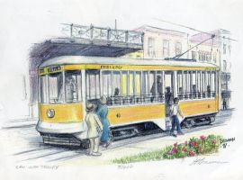 San Juan Trolley by LPBrennan