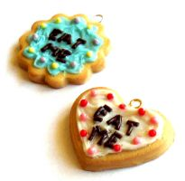 Eat Me Cake Charms by FatallyFeminine