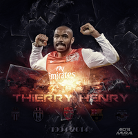 Thierry Henry by am4r4l