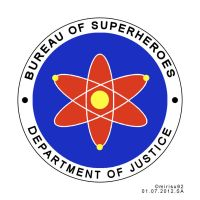 Bureau of Superheroes Official Seal - Draft by mirisu92