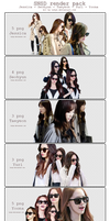 SNSD render pack = ))) by Luhye