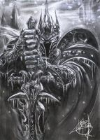 Warcraft Lich King by souladdiction