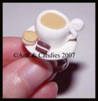 English Tea + Biscuits ring by Ambient-Lullaby