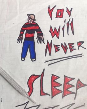 You Will Never Sleep (Freddy) by Zombie-Sniper