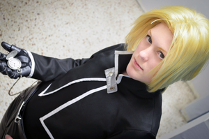 Edward Elric - Pocket watch by Kozekito