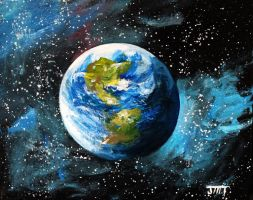 Planet Earth by ThisArtToBeYours