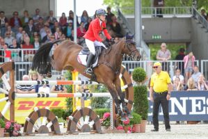 3DE Show Jumping Phase Stock 127 by LuDa-Stock