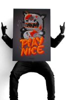 PLAY NICE by The-Kiwie