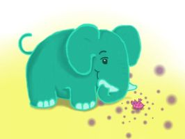 Why Elephants Never Forget by Easily-Entertained