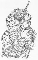 Tiger by Brett Booth by Stonegate