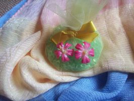 Madagascar Periwinkle Earrings by ChrisOnly