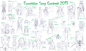 Eurovision Song Contest 2013 by Sally78