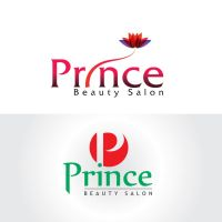 Prince Saloon logo by srinumdh