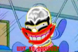why so serious? by Quetzalcoatl2k