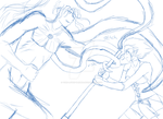 Last Battle WIP by Yori-Loves-Taisho