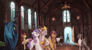 Trouble in Muskovy - Equestria Expanded by Lionel23