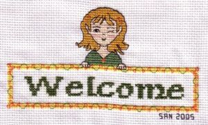 Elven Welcome by AngelSan1