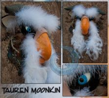 Tauren Moonkin Mask by crocodiledreams
