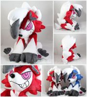 midnight Lycanroc (pre-orders open!) by MagnaStorm