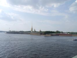 The Peter and Paul Fortress by Party9999999