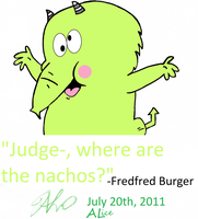Fredfred burger - edit by AliceLovesChes