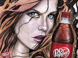 Dr Pepper art 2 Gary Shipman by G-Ship