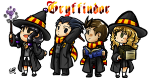 AA:HP Crossover- Gryffindor by Esabelle-Ryngin