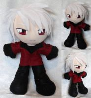 Commission, Plushie Haine Rammsteiner by ThePlushieLady