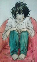 Death Note - L by Killjoy-Chidori
