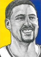 Klay Thompson by JRosales1