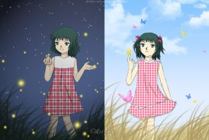 TWINS : Night and Day by Al-Shira-Aohoshi