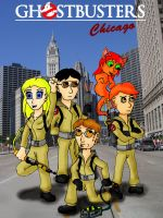 Ghostbusters Chicago by Midnight-Cobra