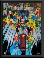 The Death Of Superman Poster by Jurgens - Breeding by Superman8193