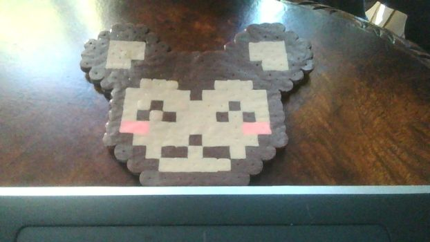 Monkey fuse bead thing by sushiandcats1