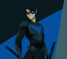 Nightwing by Vixcoon