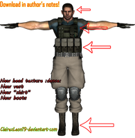 Chris Redfield Resident Evil 6 meshmod -Updated- by xXLife-Starts-NowXx