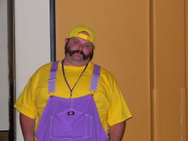 Colossalcon Wario by EndOfGreatness