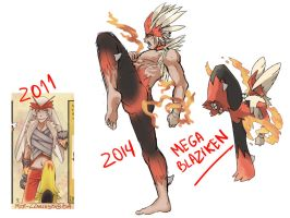 Stan the Mega Blaziken by redoluna