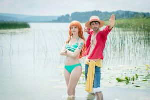 Let's conquer the New World - Nami Cosplay by Tinu-viel