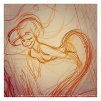 Ariel sketch by nicolasammarco