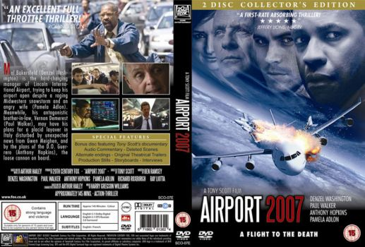 AIRPORT 2007 DVD Cover by Fonzu