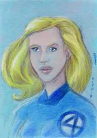 Invisible Woman by LEXLOTHOR