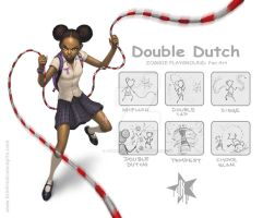 ZP Fanart : Double Dutch by JomaroKindred