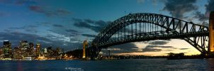 Panorama of Sydney Skyline III by IAMSORRY87