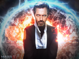 Hugh Laurie as Illusive Man! (Mass Effect) by toxioneer