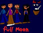 Full moon poster 2 by C-J-Sparrow