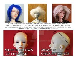 Please Help with BJD wig tutorial by silverbeam