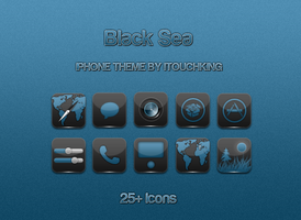 Black Sea iPhone Theme by itouchking